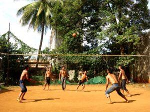 Terra battuta pallavolo Cambogia