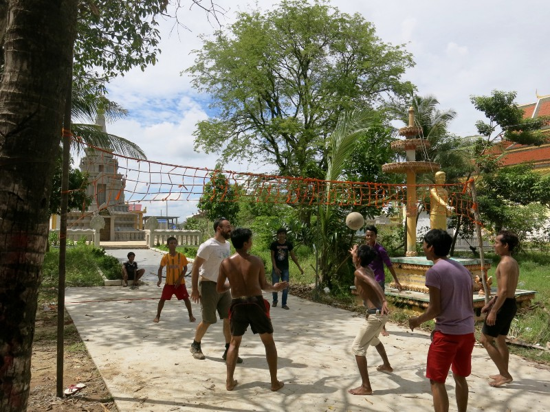 Beach Volley Cambogia