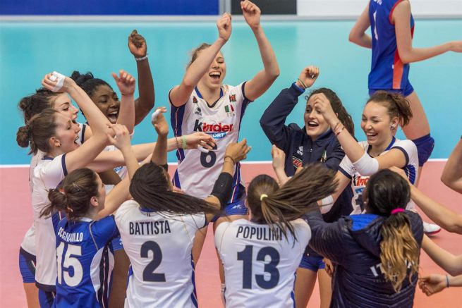 Italia volley femminile campione