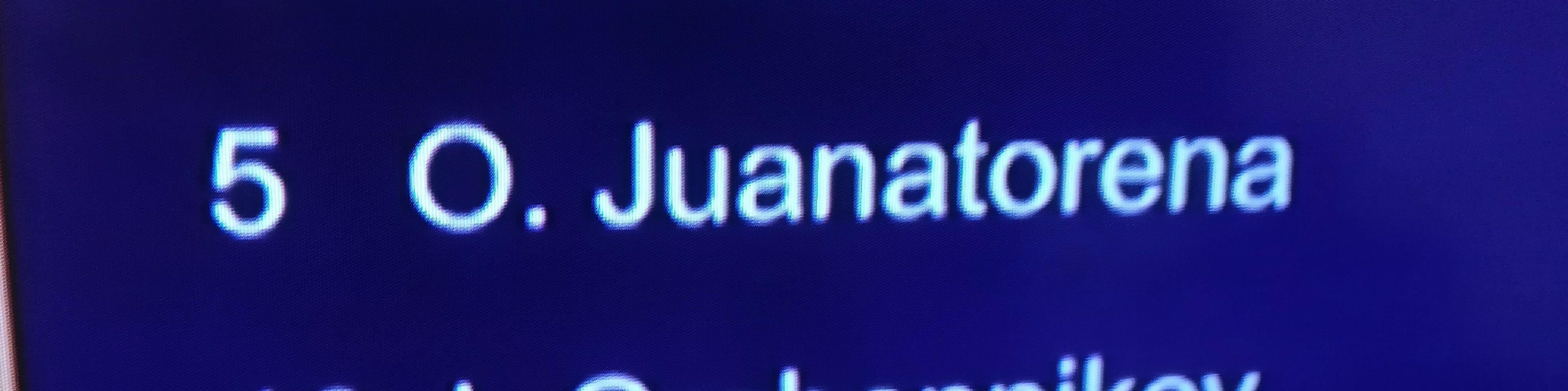 Juanatorena