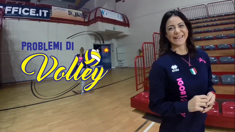Stefania Sansonna Problemi di Volley