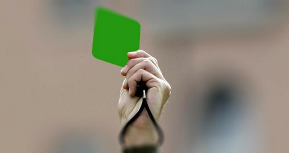 Volley cartellino verde