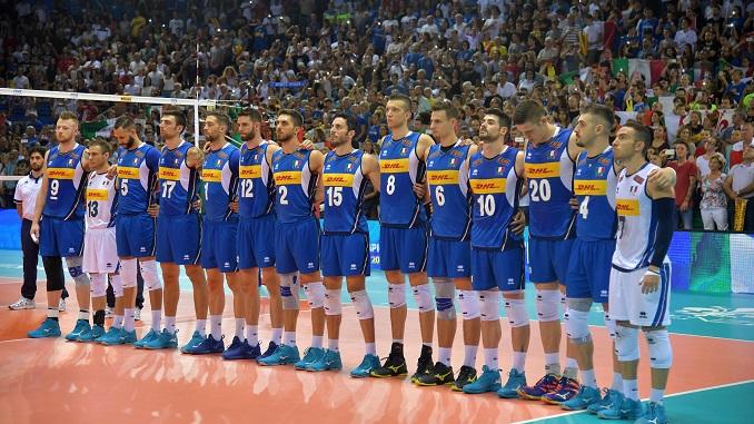 Calendario Mondiali Pallavolo.Volley Calendario Completo Della Nazionale Maschile E