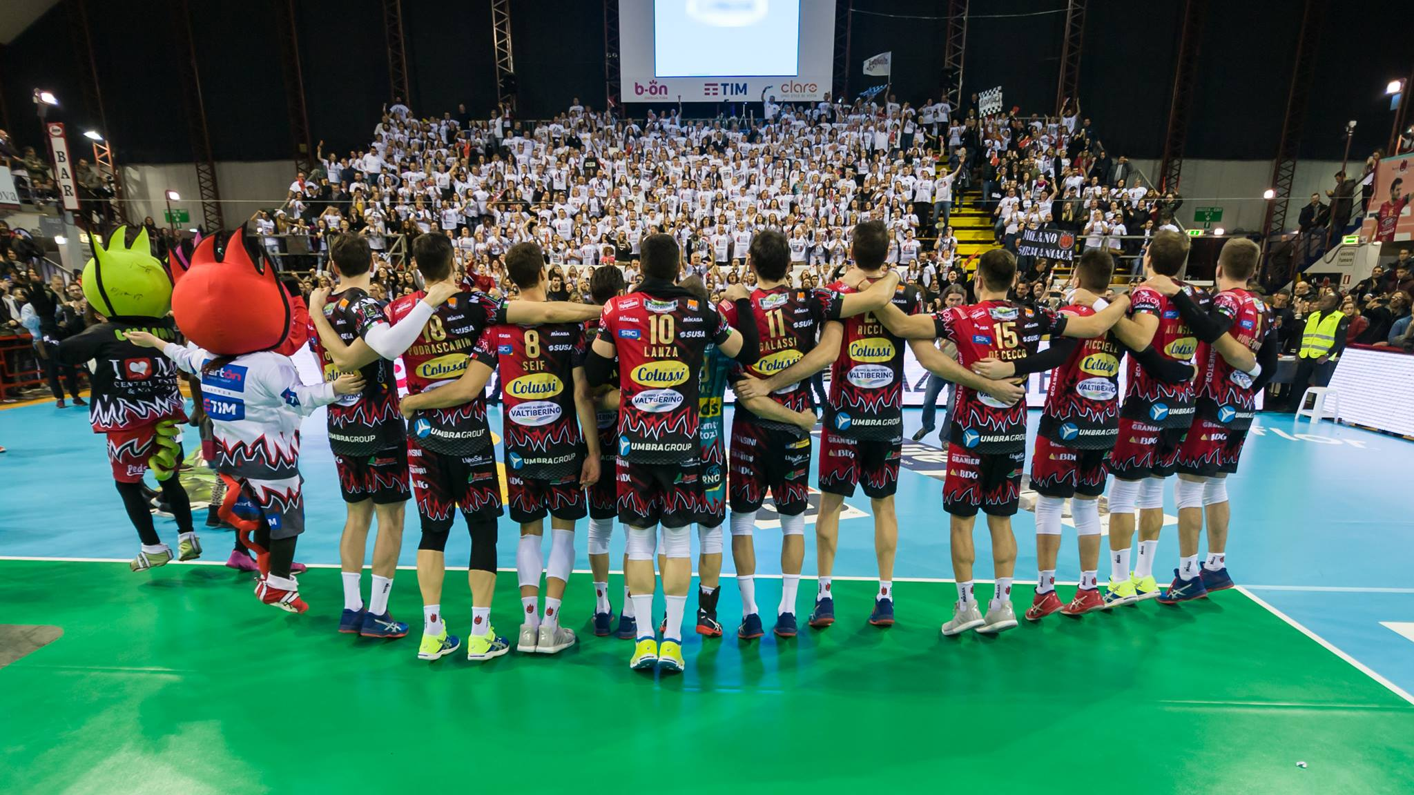 Sir Safety Perugia a Roma per i playoff Scudetto