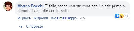 commento problemi volley