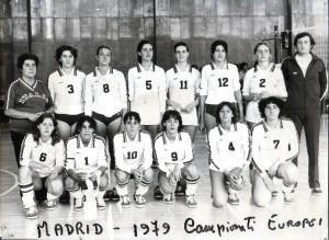 pallavolo nazionale juniores 1979