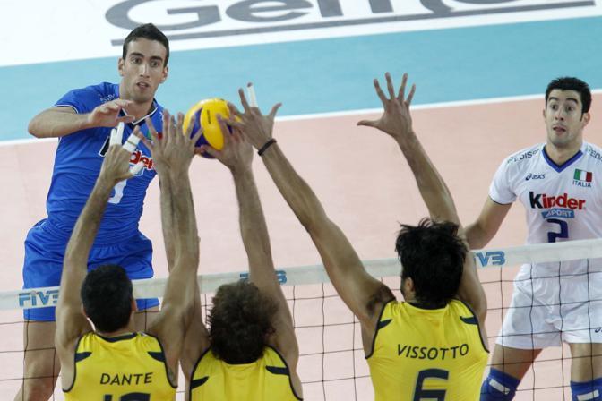 Italia Brasile volley 2010