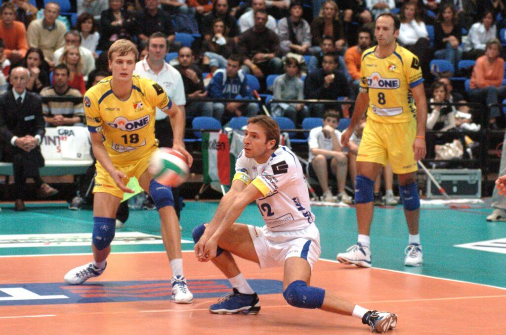 Damiano Pippi pallavolo libero