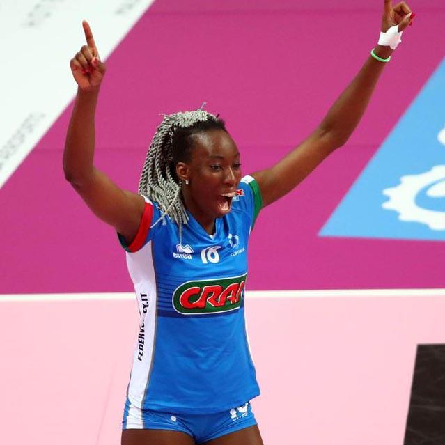 Paola Egonu top scorer