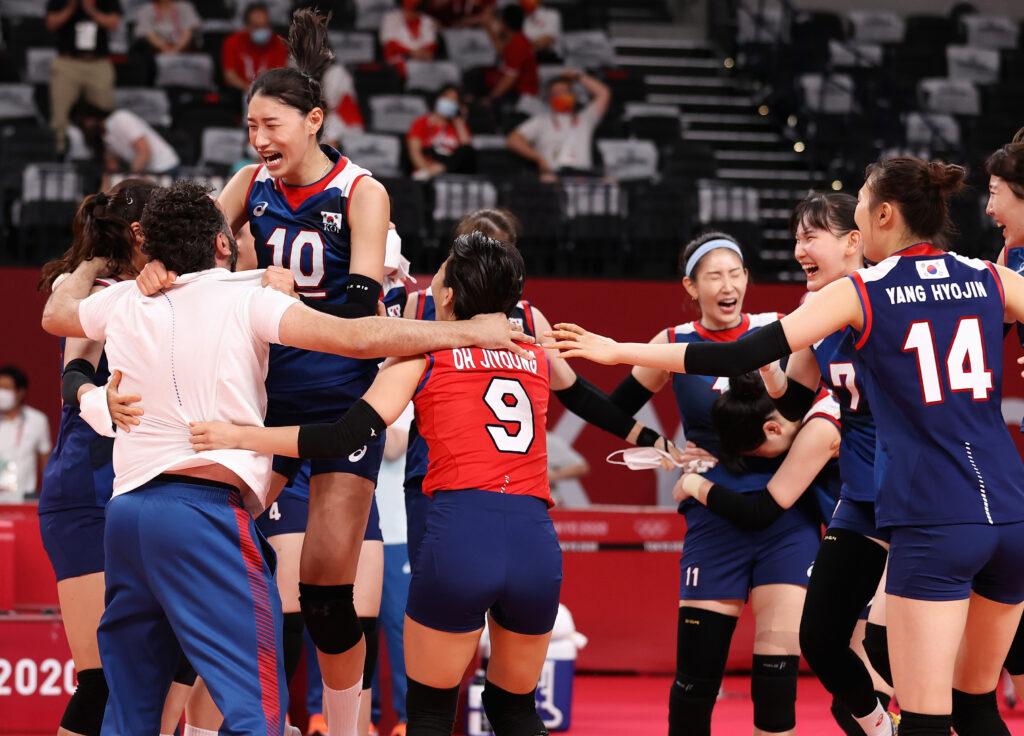 Lavarini Corea Olimpiadi